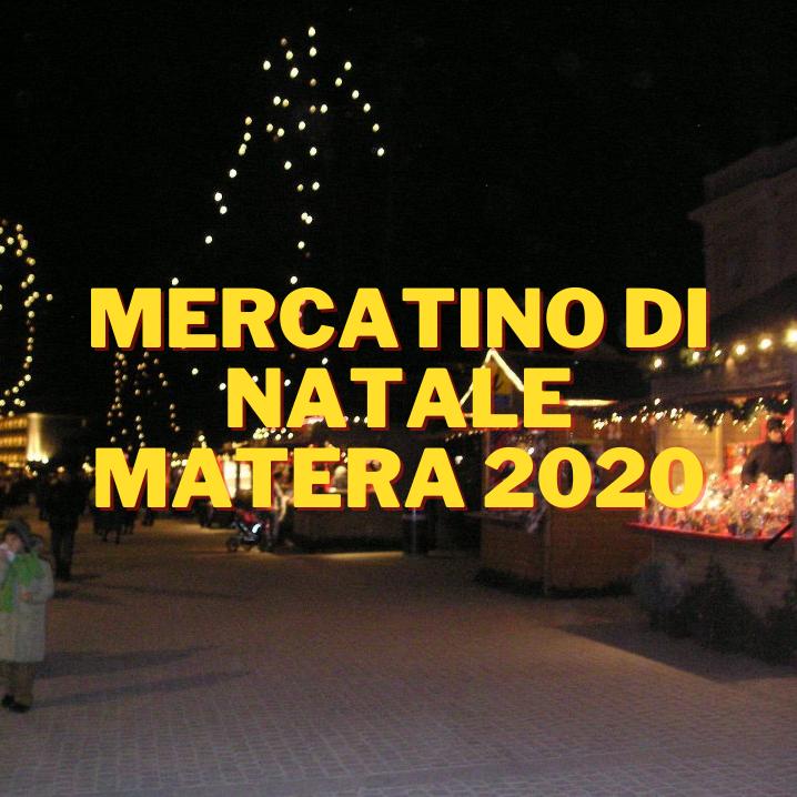MERTATINO DI NATALE MATERA 2020